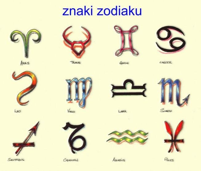 Znaki Zodiaku Tatuaże Na Tatuaże Zszywkapl