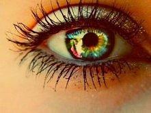Beautiful long lashes