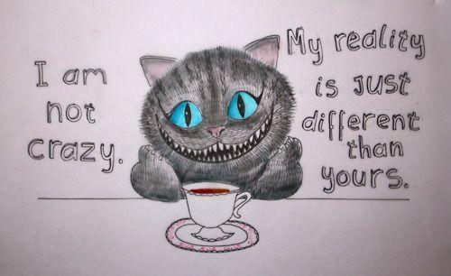 Kot Z Cheshire Ma Rację Na Kinoksiążka Zszywkapl