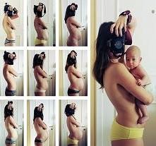 Kobieta w każdym miesiącu ciąży. fot. Sophie Starzenski