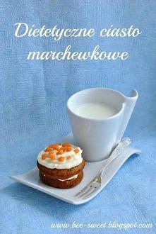 Dietetyczne ciasto marchewk...