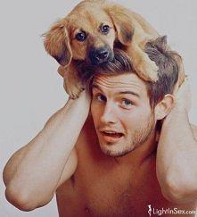 takie tam... z psem na głowie :D