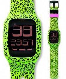 Kolorowy zegarek z ekranem dotykowym! Szwajcarska jakość.