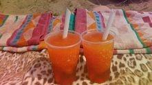 summer time ! sorbet tropikalno-truskawkowy+ 50ml wódka ! :)
