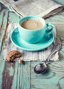 Kawa z mlekiem do łóżka :)
