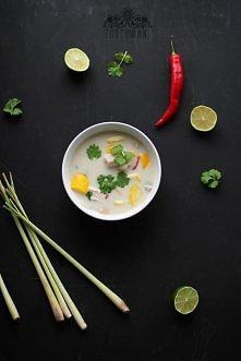 Tajska zupka Tom Kha