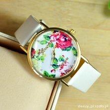 Zegarek floral