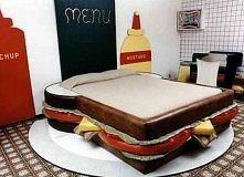 łóżko kanapka xD