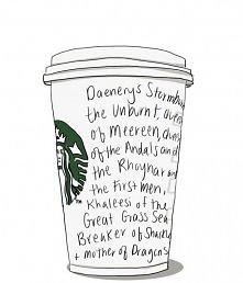 Deenerys w Starbucks'ie :P