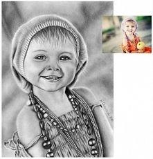 Jak widać, dzieci lubie rysować najbardziej :) Format A4, ołówki.  Rysuję na ...