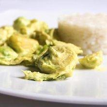 Brukselka z curry