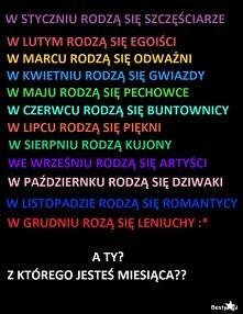 Marzec, a wy?;-)