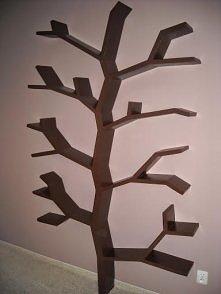 Półka drzewo 210x130cm Wykonuje na zamówienie  kontakt marcin.stelma@gmail.com Zapraszam do obejrzenia innych moich realizacji zamieszczonych na moim profilu na zszywka.pl