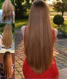 Moje włosy po roku pielęgnacji... ;) rudowata.blogspot.com
