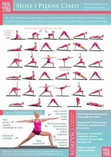 sekwencje jogi na piękne i silne ciało