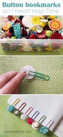 DIY wykorzystanie guzików :D