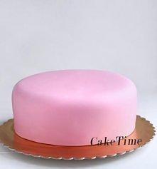 dekorowanie ciasta masa cukrowa