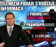 media i 3 rodzaje informacji ;)