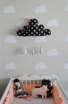 dziecięcy pokój w chmurach