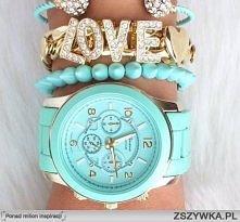 piękny zegarek <333