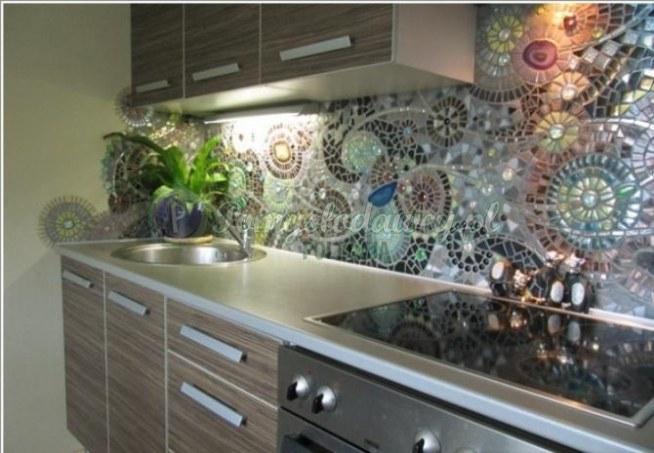 Mozaika W Kuchni Na Pomysły Zszywkapl