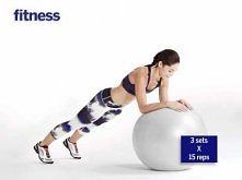 Stability Ball Total Body Workout Routine
