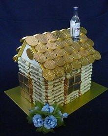 конфет домик руками из своими
