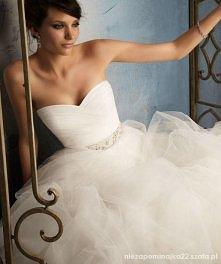 Cudna suknia ślubna. Wolici...