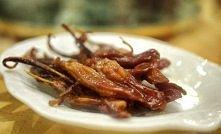 Kacze ozorki (Chiny)  Taki specjał można znaleźć w kuchni prosto z Hong Kongu. To jest taka chińska odmiana naszych wołowych ozorków na widok, których robi się niedobrz