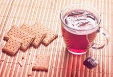 Herbata i herbatniki.:)