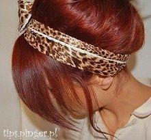 śliczny mahoniowy kolorek :)