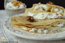 naleśniki z serem i orzecha...