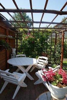 Piękny komplet mebli ogrodo...