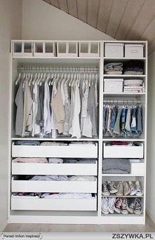 Kto by chciał taką garderob...