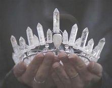 korona z kryształów