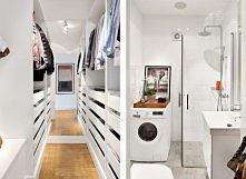 Łazienka i garderoba
