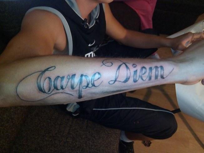 Carpe Diem Na Tatuaże Zszywkapl