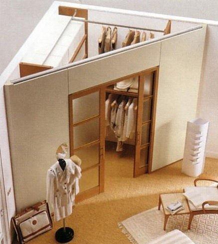 Garderoba w rogu pokoju na pomys y - Camera da letto in muratura ...