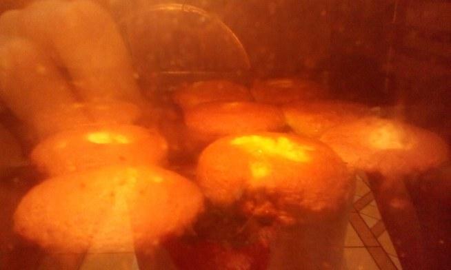 budyniowa muffinka  mniam