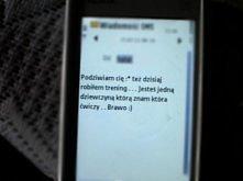 Jeden sms od odpowiedniej osoby wystarczy aby zmotywować do kolejnego miesiąca ćwiczeń :D