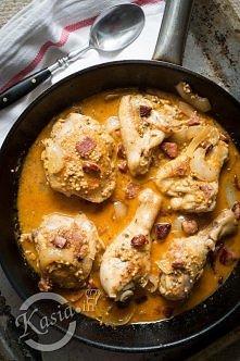 Kurczak w musztardzie z boc...