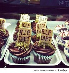 R.I.P. DIET. muffiny, babeczki czekoladowe
