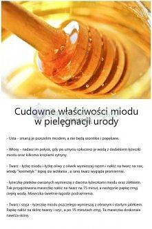 Miód na poprawę urody ;-)