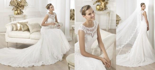 moja suknia ślubna PRONOVIAS LANDEL wystawiona na sprzedaż