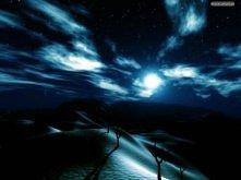 Księżyc na pustyni *,*