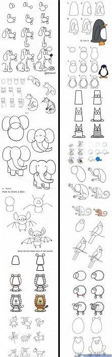 Jak rysować zwierzaki ;]