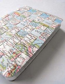 zeszyt z mapy np.do geografi