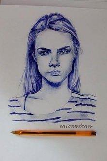 długopisem