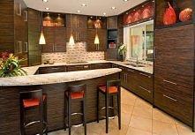 Drewniana kuchnia. Czy lubicie takie połączenie w kuchni?