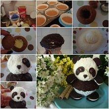 Babeczki - panda